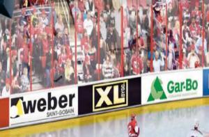 Ishockey Reklam